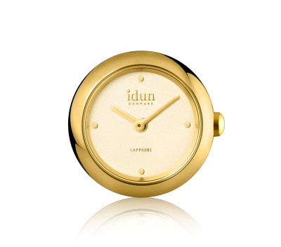 Rocking Charm Watch with Gold Plated Case and Champagne Dial - RCW3300