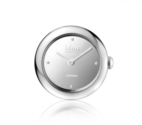 Rocking Charm Watch with Mirror Dial and White Stones - RCW1100CZ